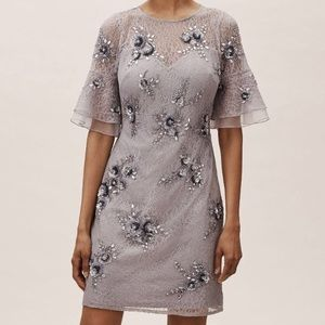 Anthropologie Asbury Dress size 14 NWT Lace sequin
